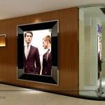 дизайн магазина мужской одежды