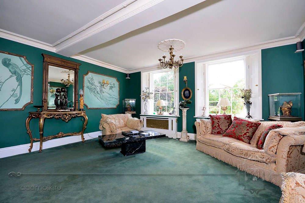 зеленая гостиная