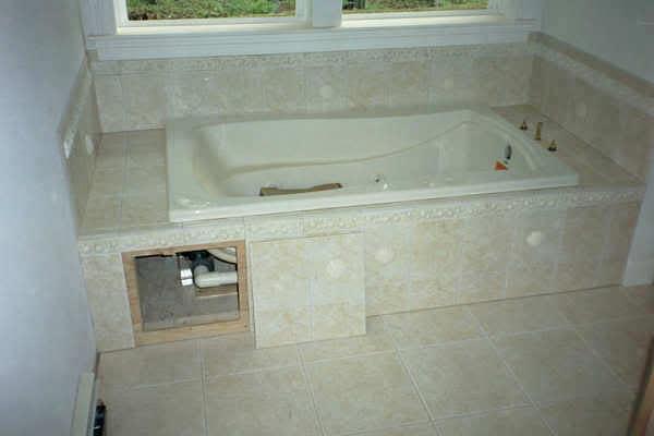Люк плитке в ванной - 4efc