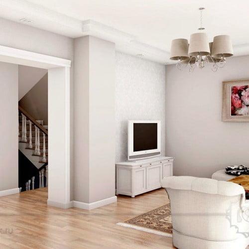3d дизайн двухэтажного загородного дома