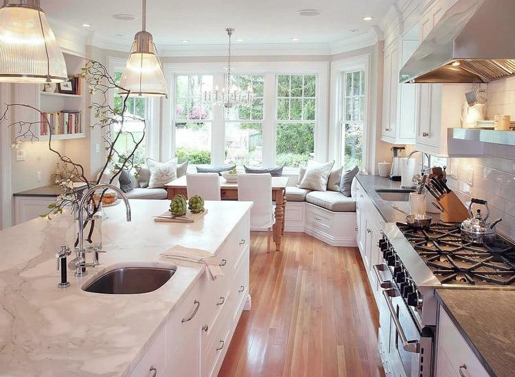 классический кухонный уголок
